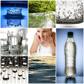 Agua Dulce, Agua Mineral y Agua Salada