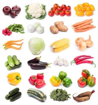 Verduras frescas. Alimentos sanos