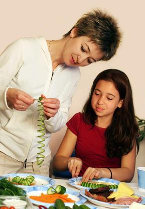Promover Hábitos: Comer en familia
