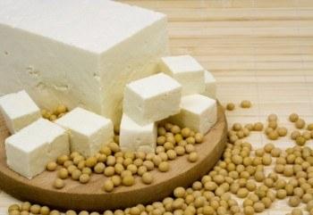 Tofu y porotos de Soya