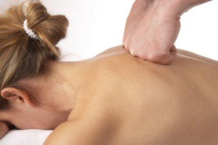 Masaje para dolor de espalda
