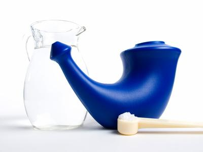 Lavado o ducha nasal