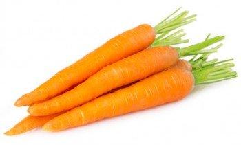Zanahorias frescas