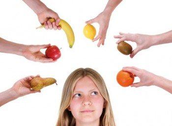 Alimentación baja en calorías